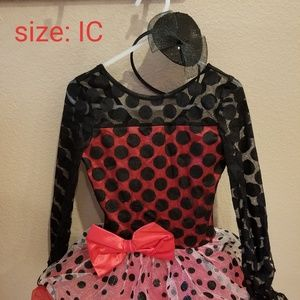 Young girls dance, pageant, or Halloween costume